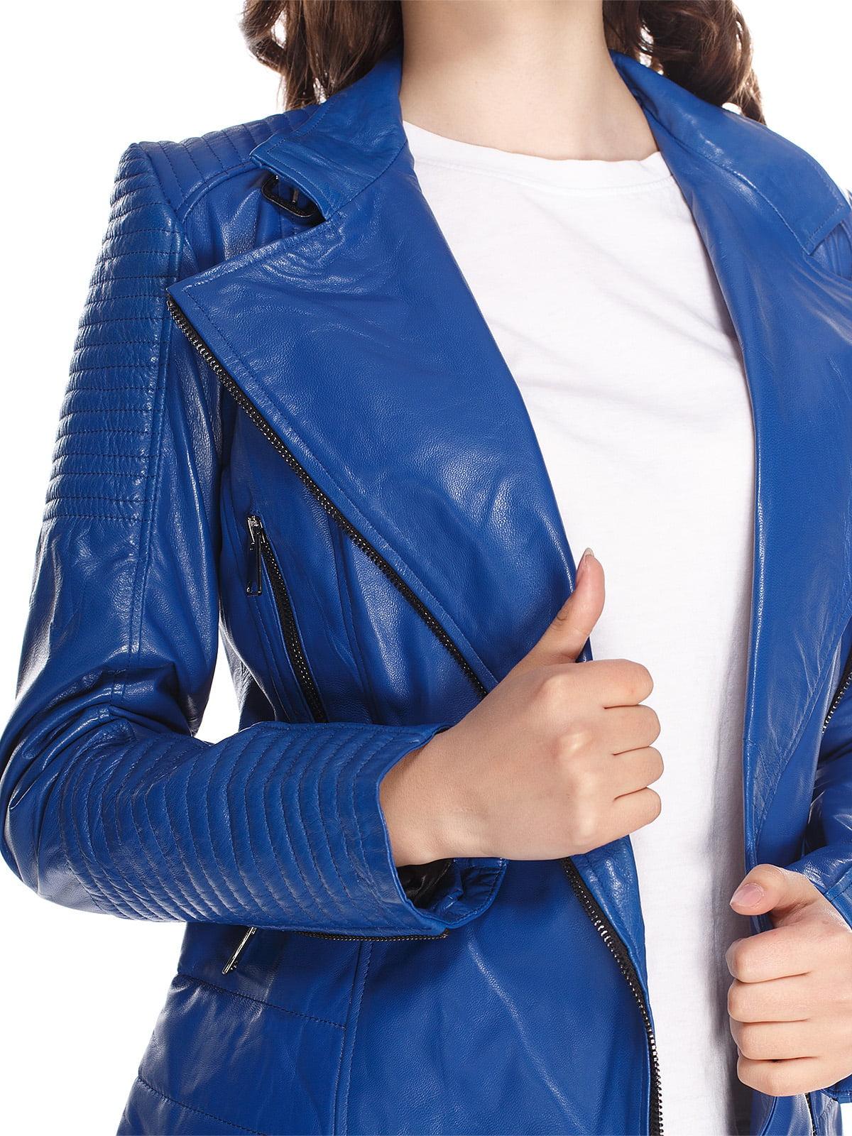 Куртка синя | 4228925 | фото 3