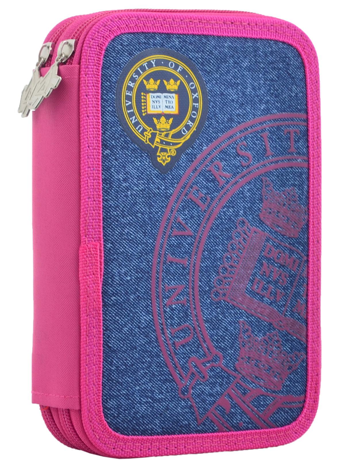 Пенал рожево-синій   4235552