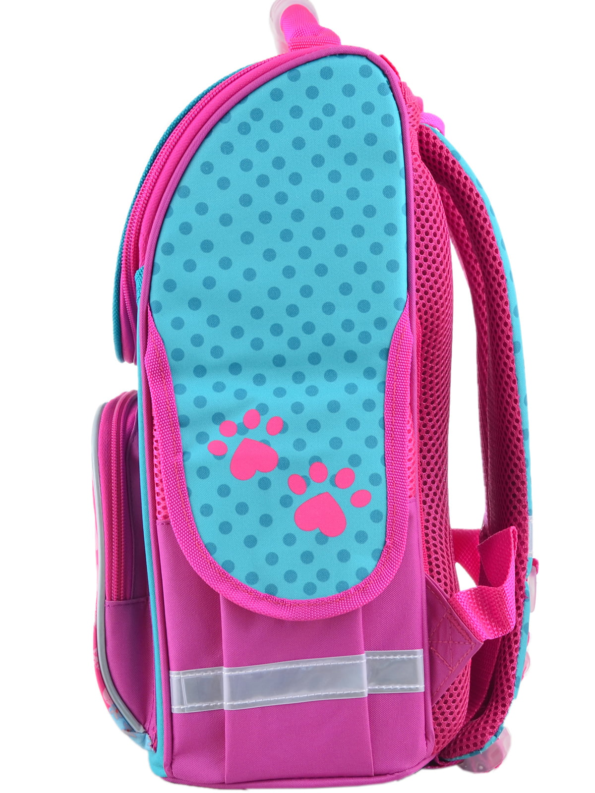 Рюкзак рожевий з принтом | 4235635 | фото 4