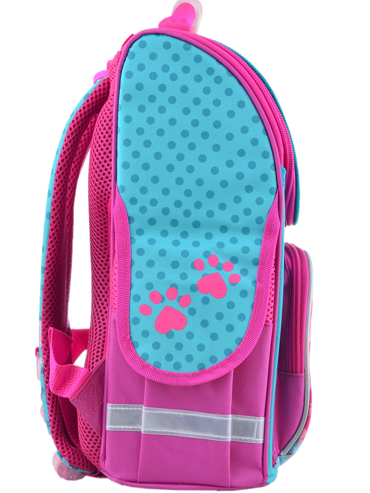 Рюкзак рожевий з принтом | 4235635 | фото 5