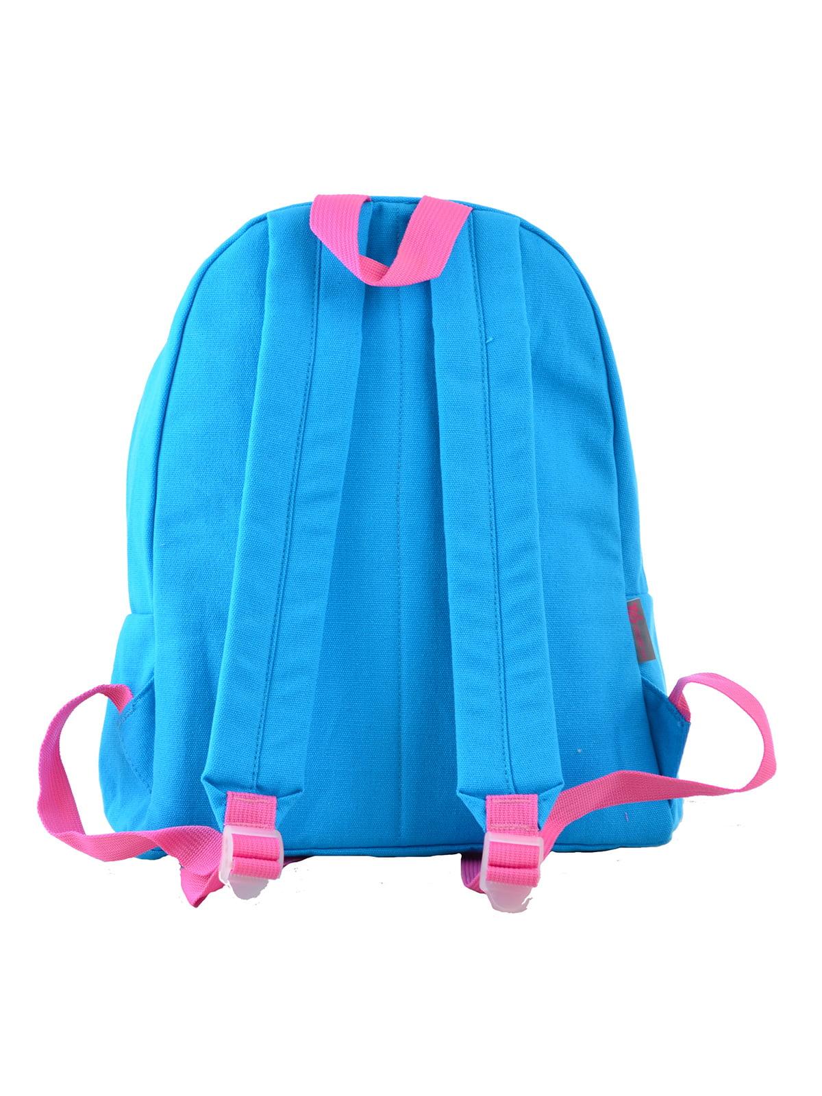 Рюкзак блакитний | 4235687 | фото 4