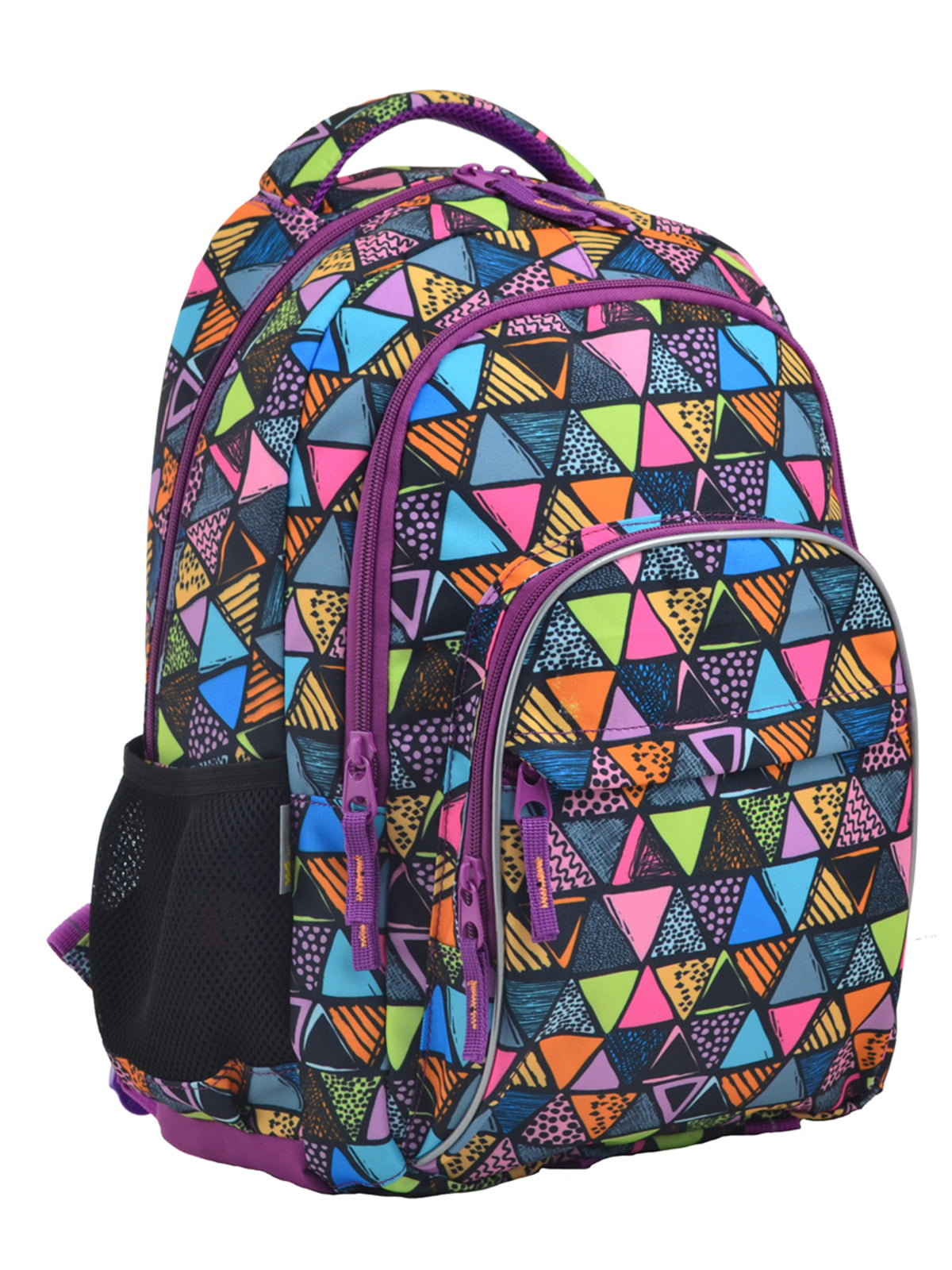 Рюкзак фіолетовий в принт   4235693