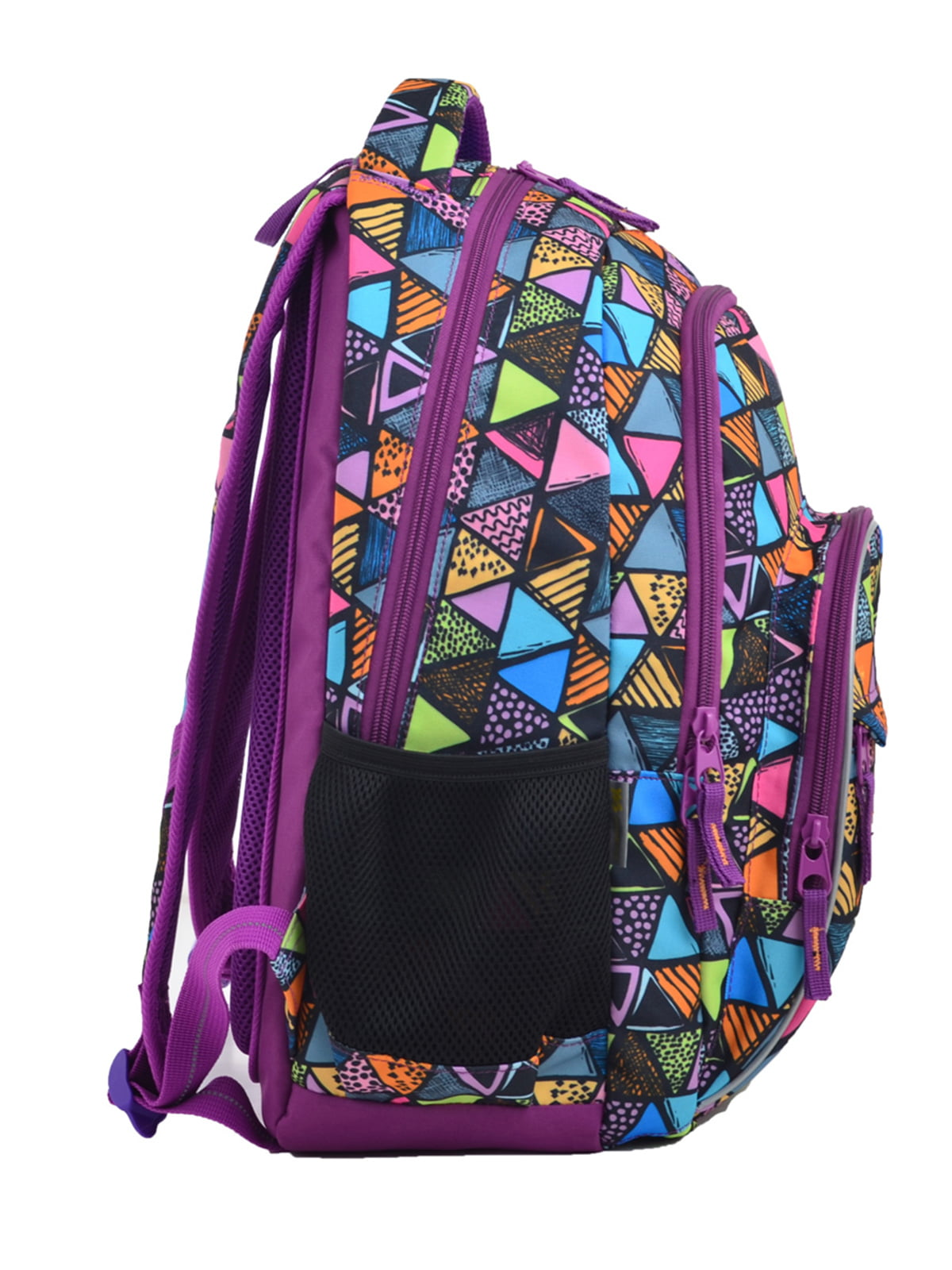 Рюкзак фіолетовий в принт   4235693   фото 2