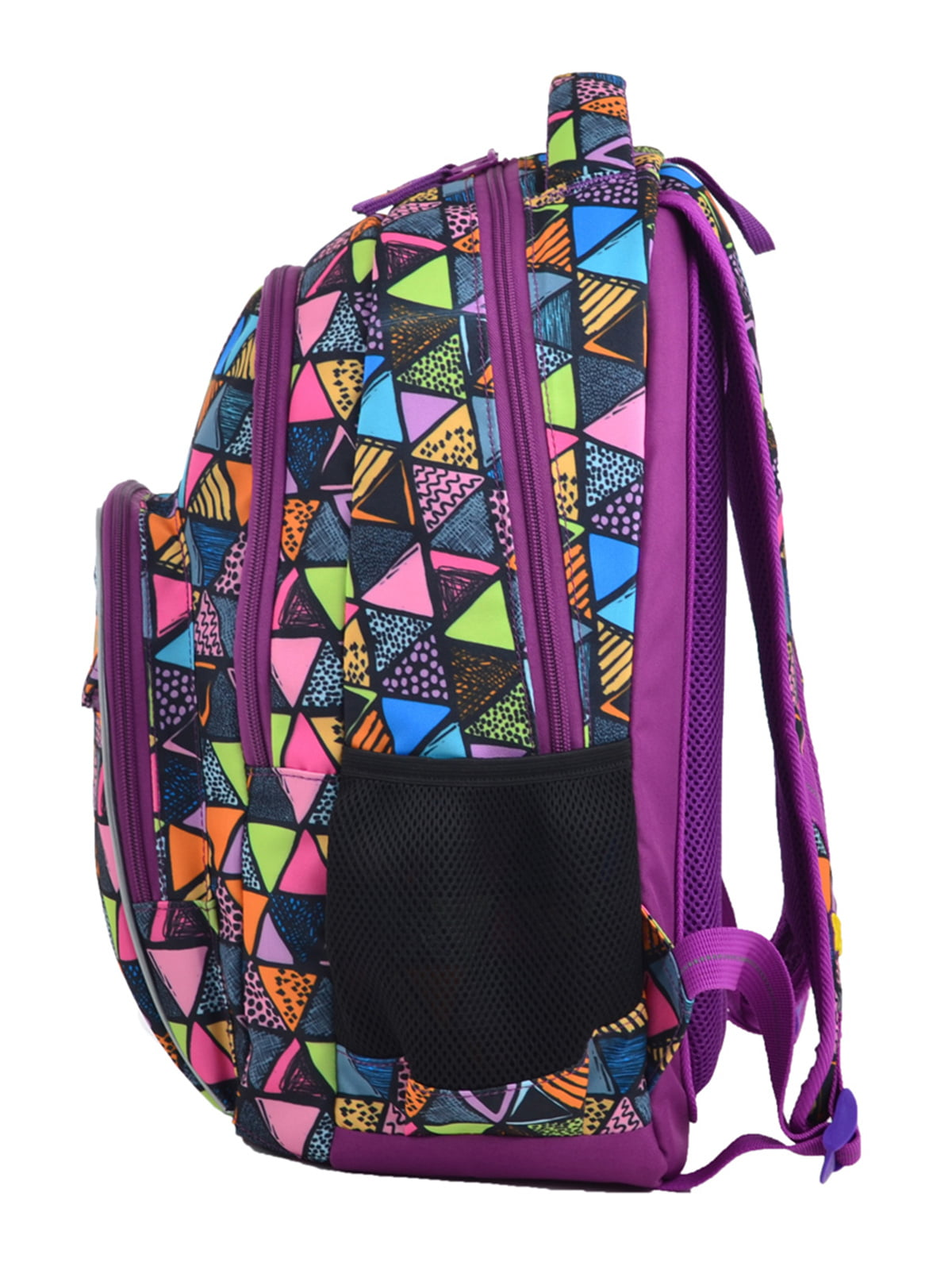 Рюкзак фіолетовий в принт   4235693   фото 3