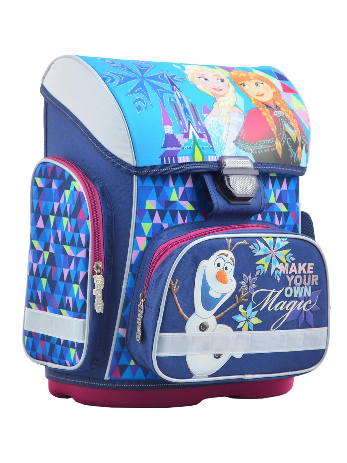 Рюкзак синій в принт   4235774