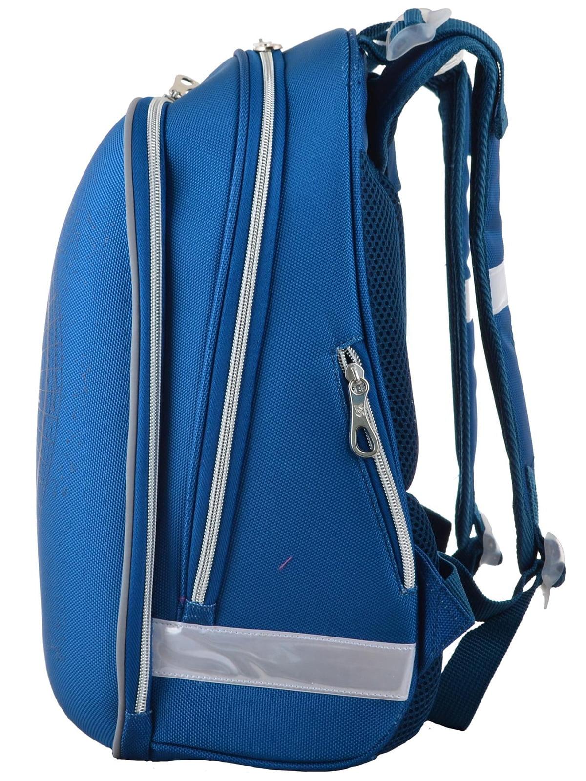 Рюкзак блакитний | 4235784 | фото 3