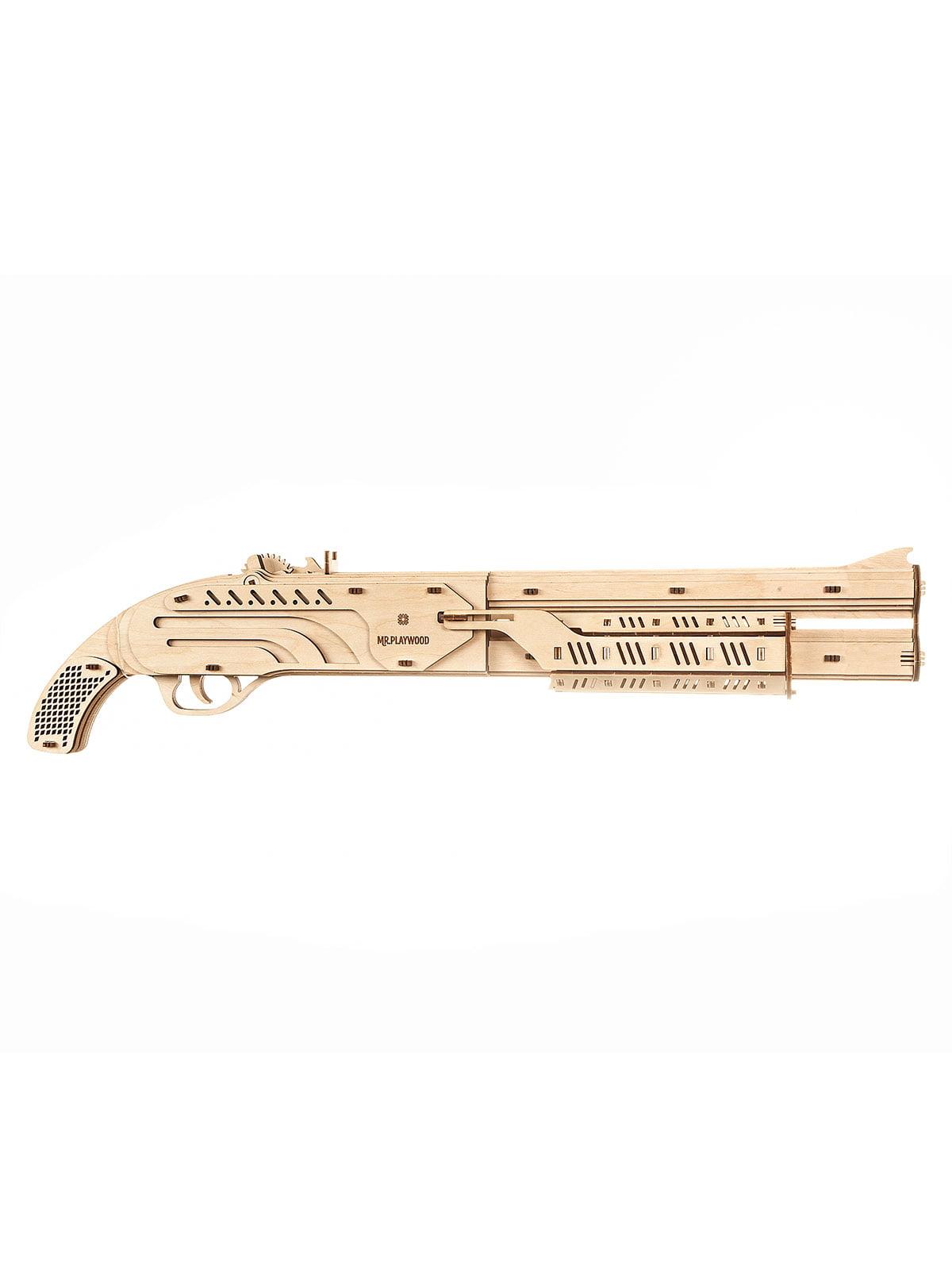 Механічний 3D-конструктор із дерева | 4237527