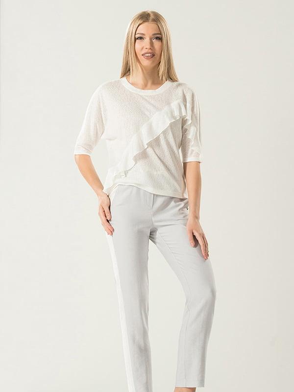 Блуза молочного кольору | 4177912