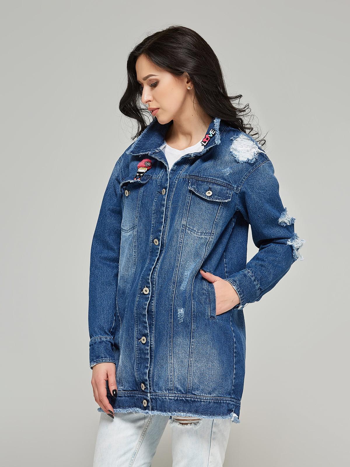 Куртка синя | 4093252 | фото 3