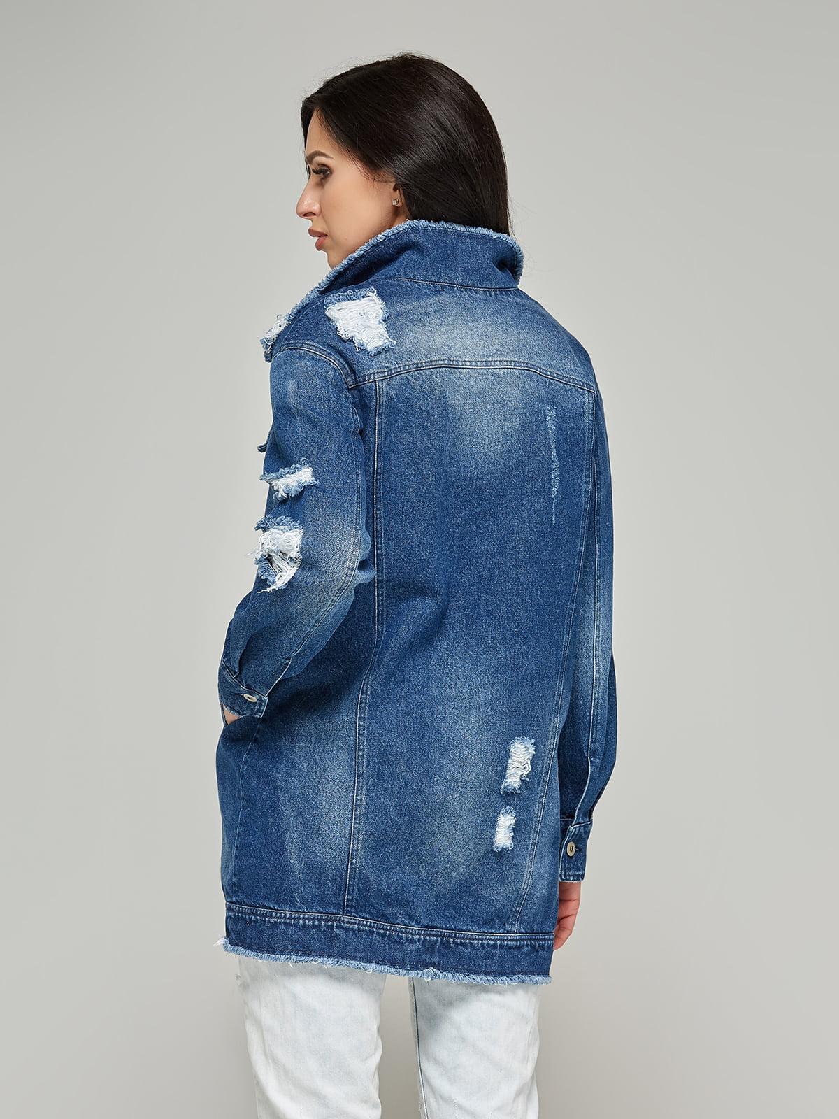Куртка синя | 4093252 | фото 4