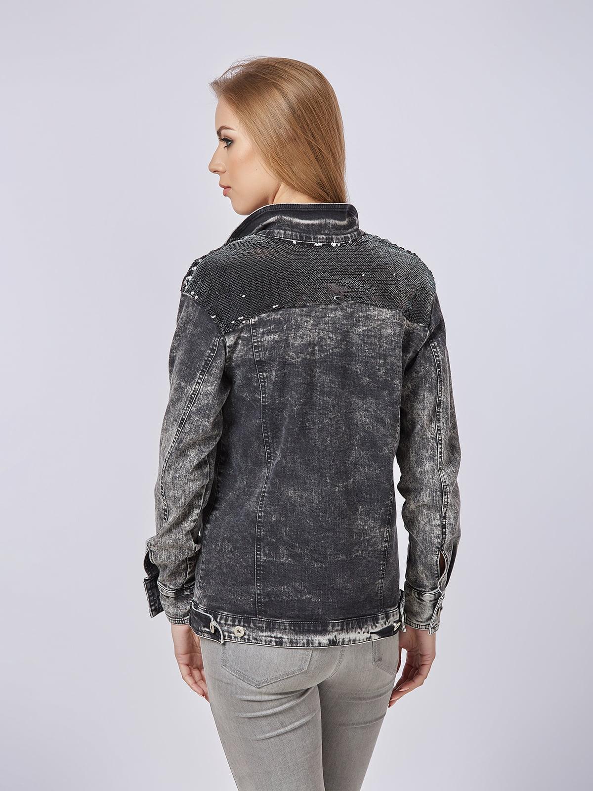 Куртка сіра | 4237535 | фото 3