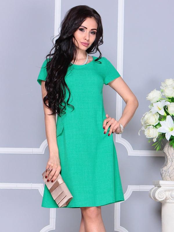 Платье зеленое | 4238463