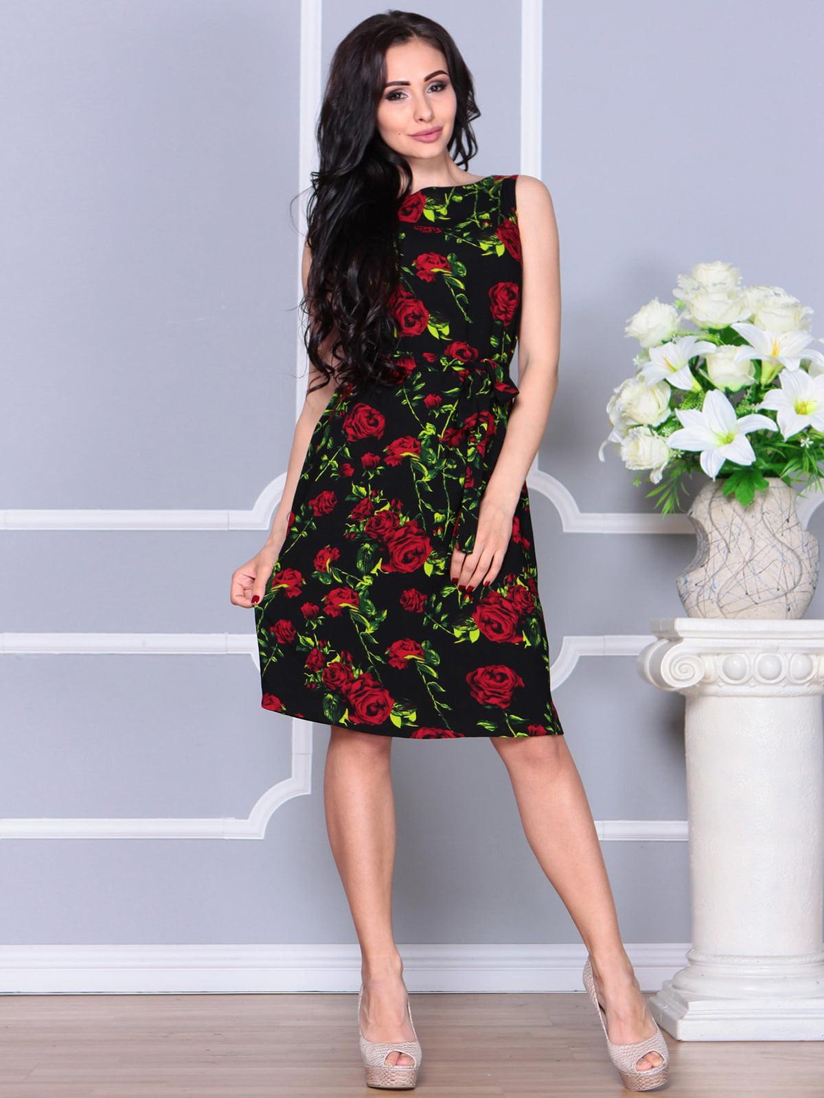 Сукня в квітковий принт | 4238466