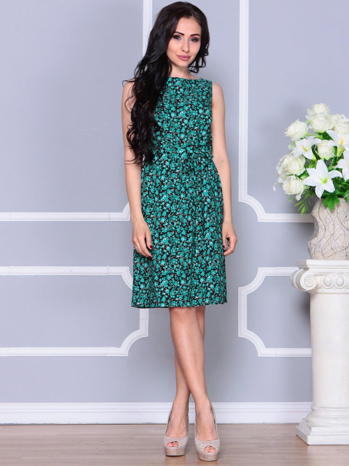 Платье в принт | 4238468