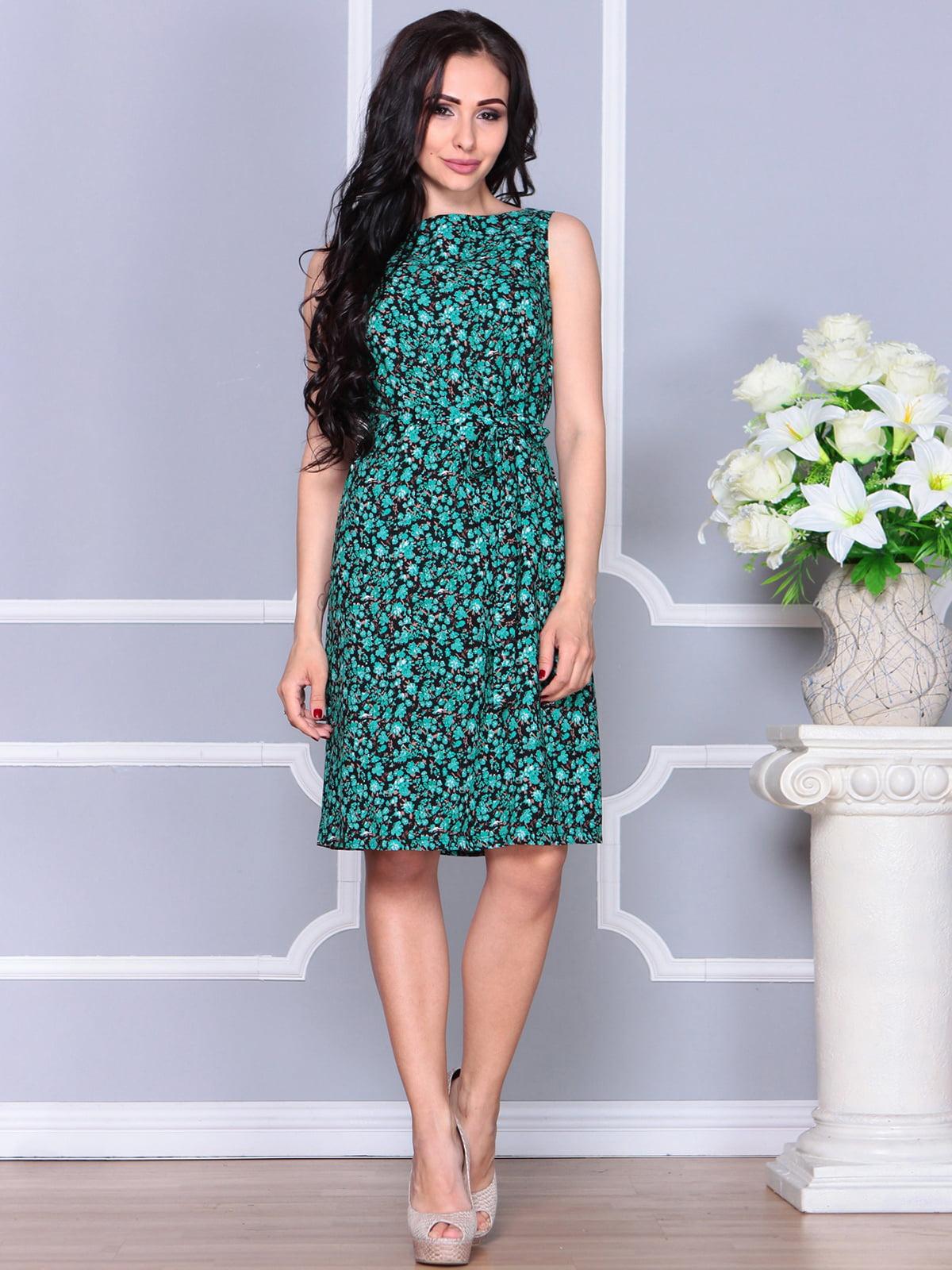 Платье в принт | 4238468 | фото 3