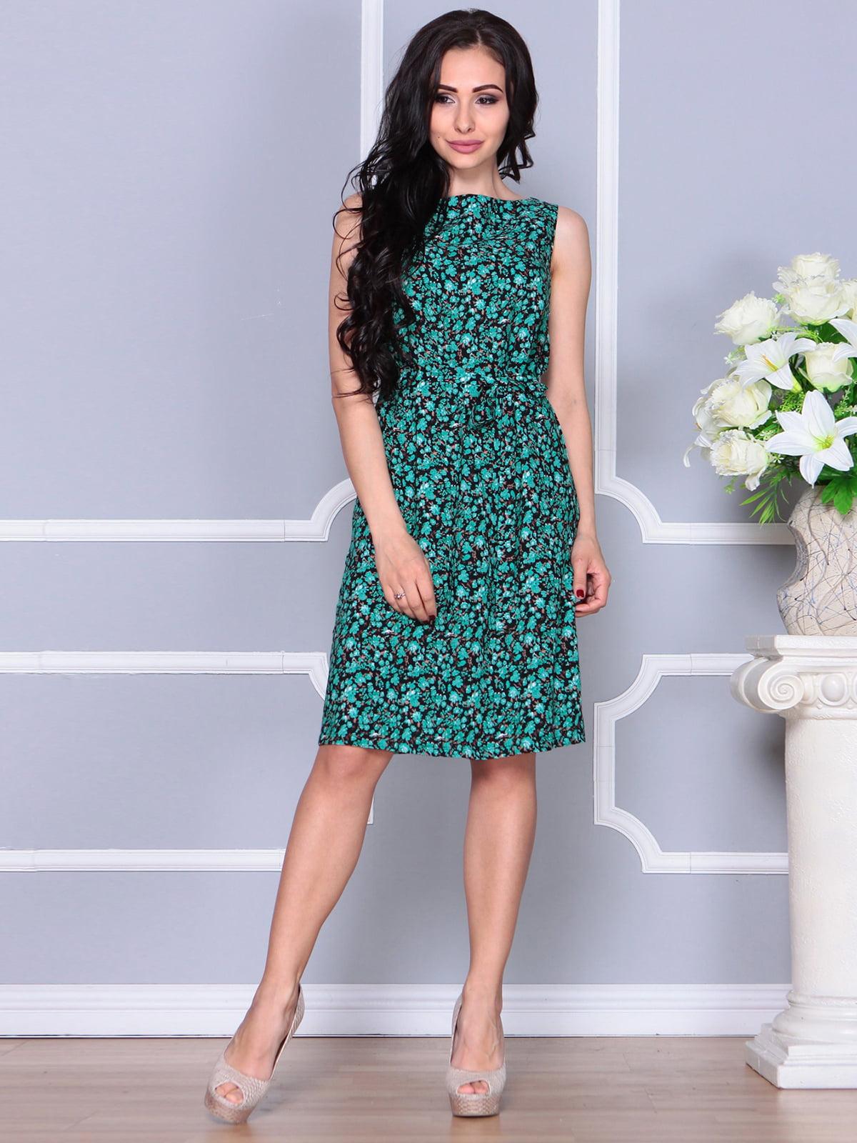 Платье в принт | 4238468 | фото 4