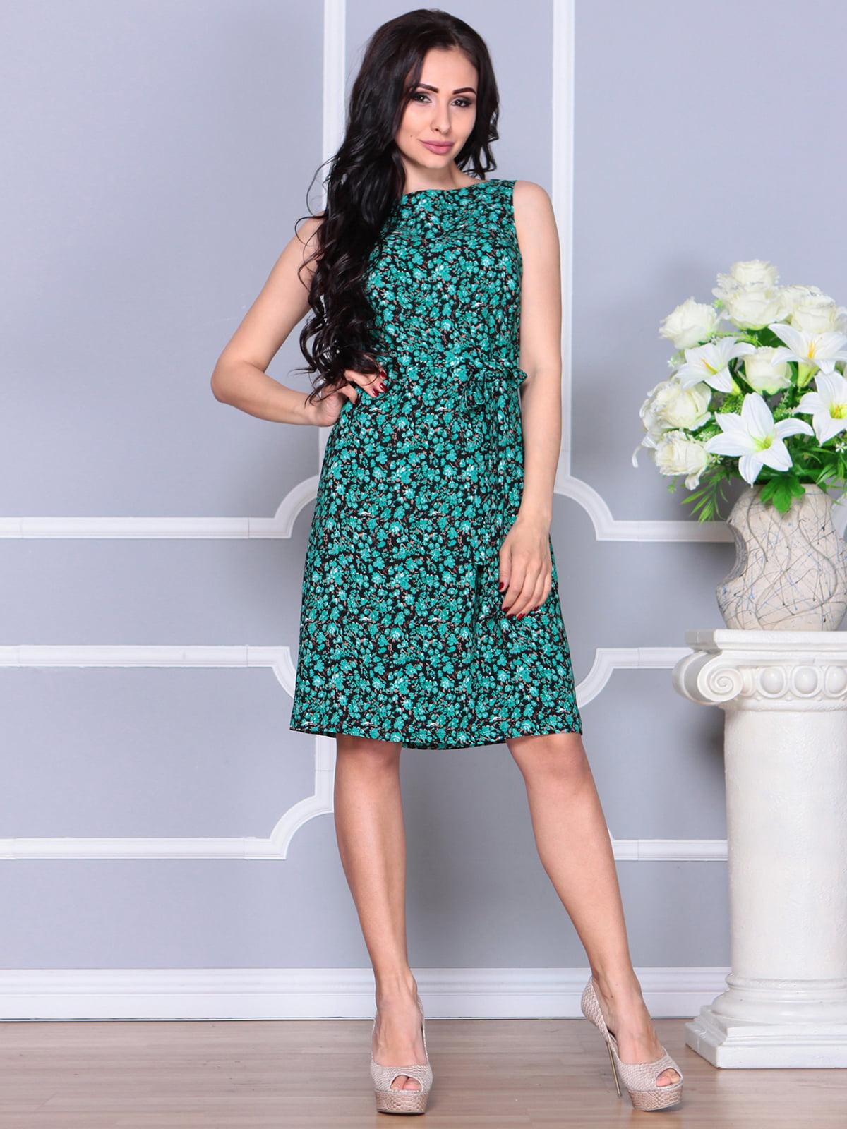 Платье в принт | 4238468 | фото 5