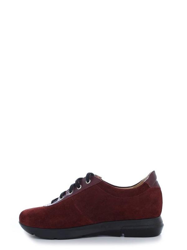 Туфли бордовые | 4238241 | фото 2