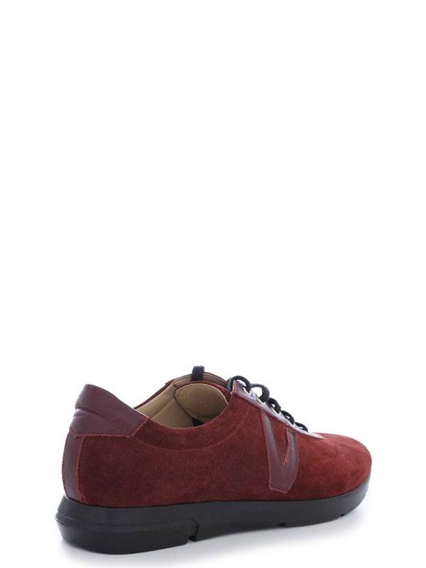 Туфли бордовые | 4238241 | фото 3