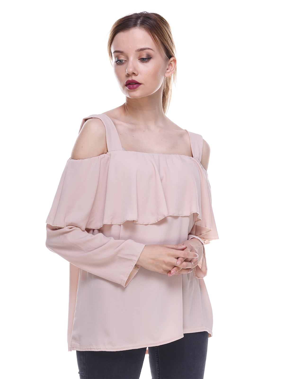 Блуза бледно-розовая   3277063
