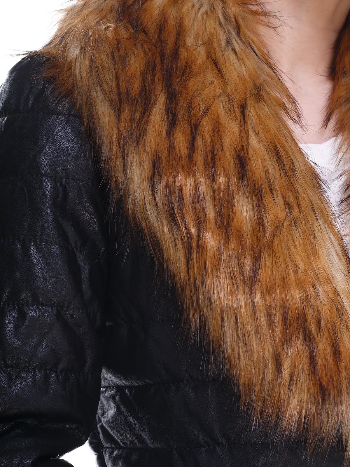 Куртка черная | 3575223 | фото 3