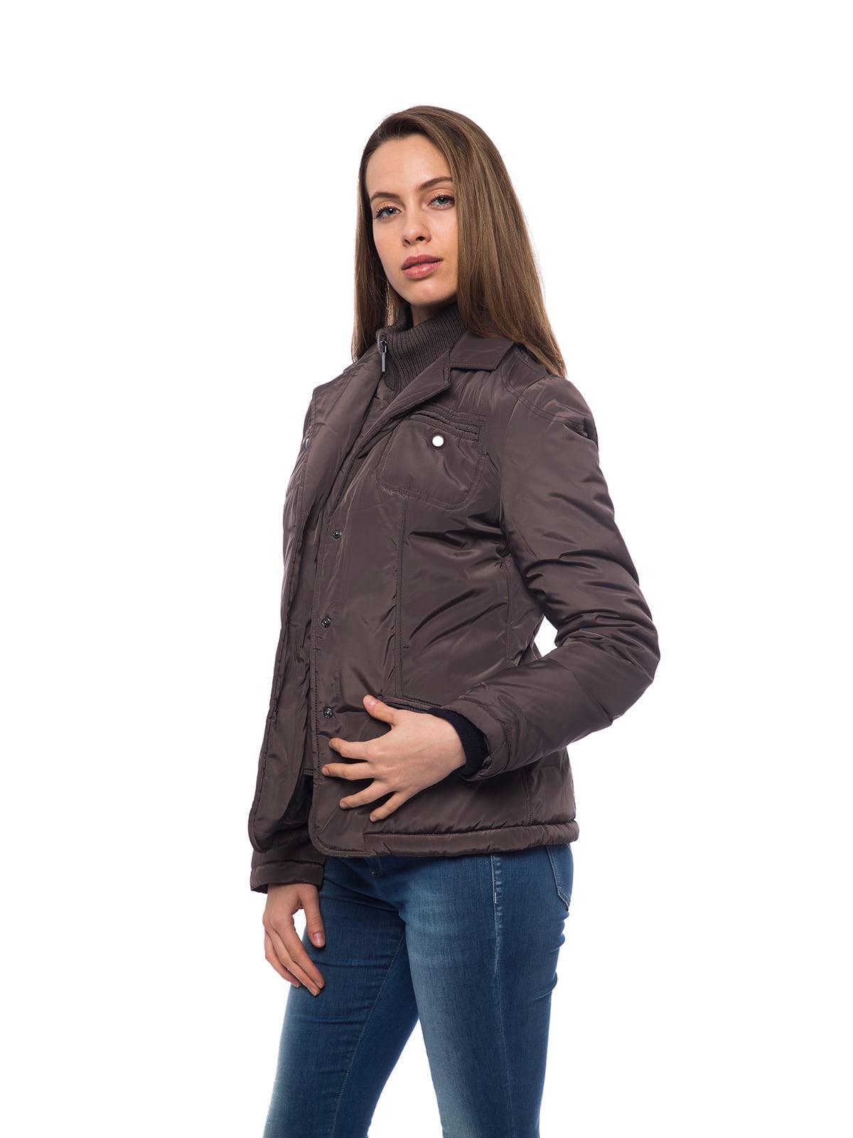 Куртка коричневая | 2716680 | фото 7