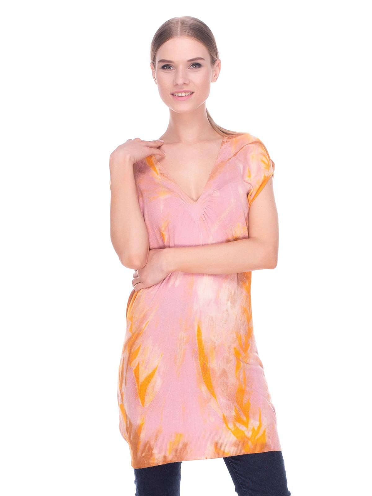 Туника розово-оранжевая   4235074