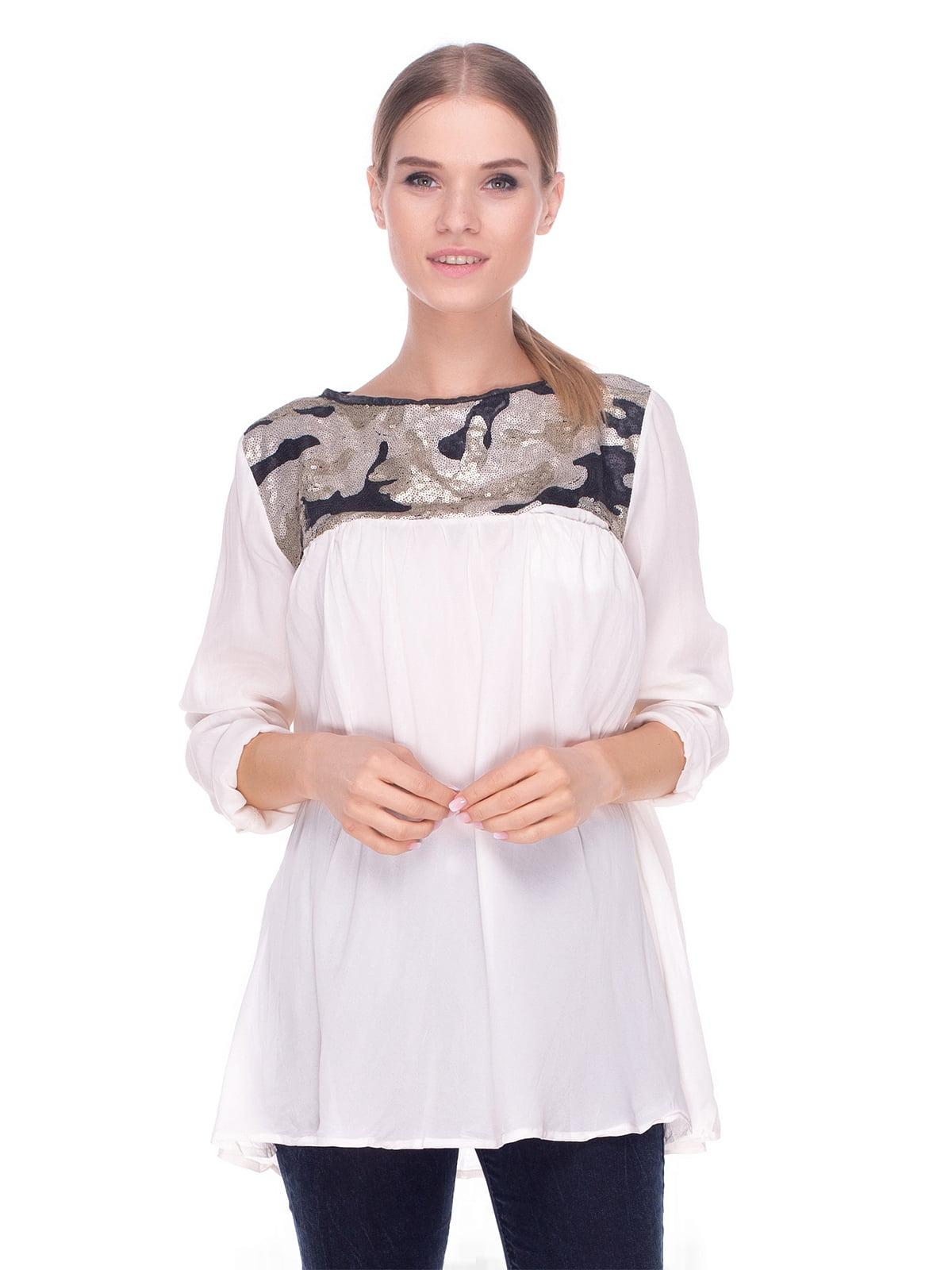 Блуза светло-бежевая   4235092