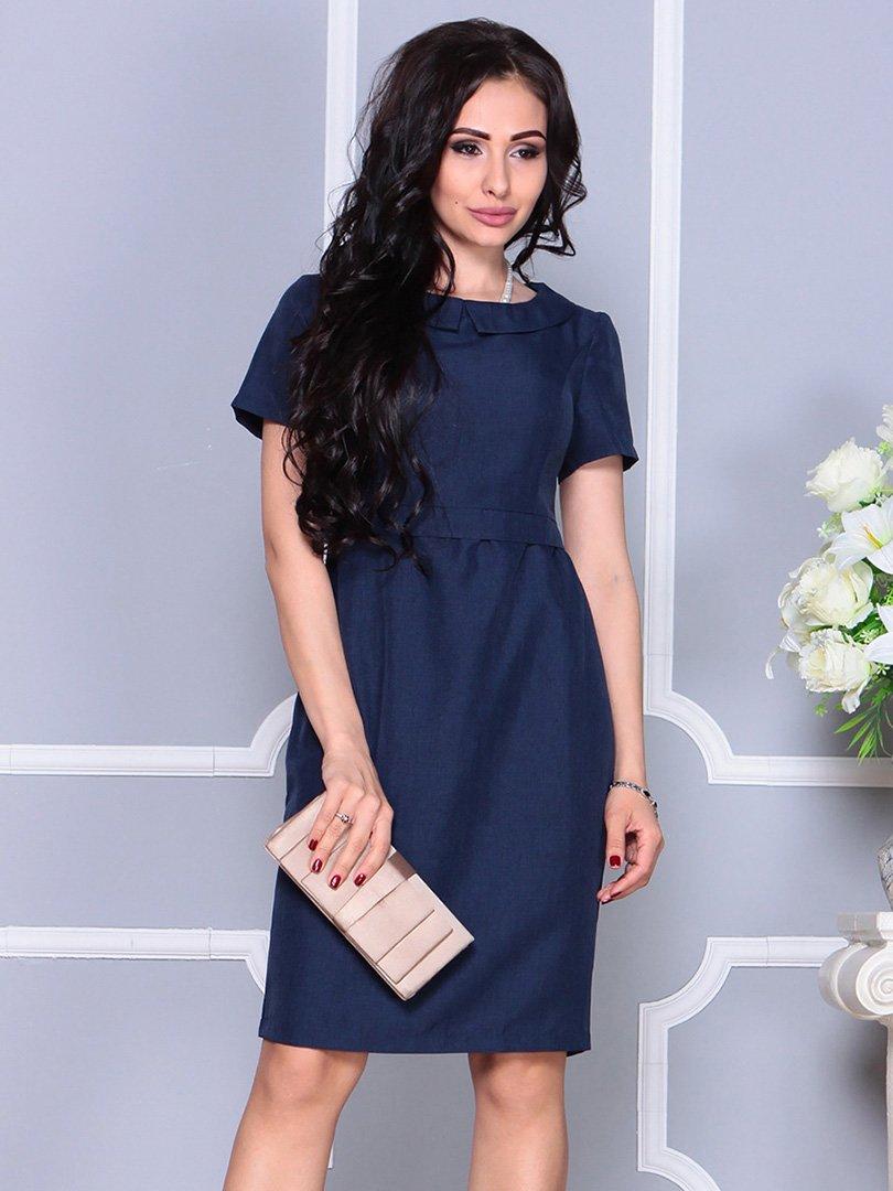 Платье темно-синее | 4246222
