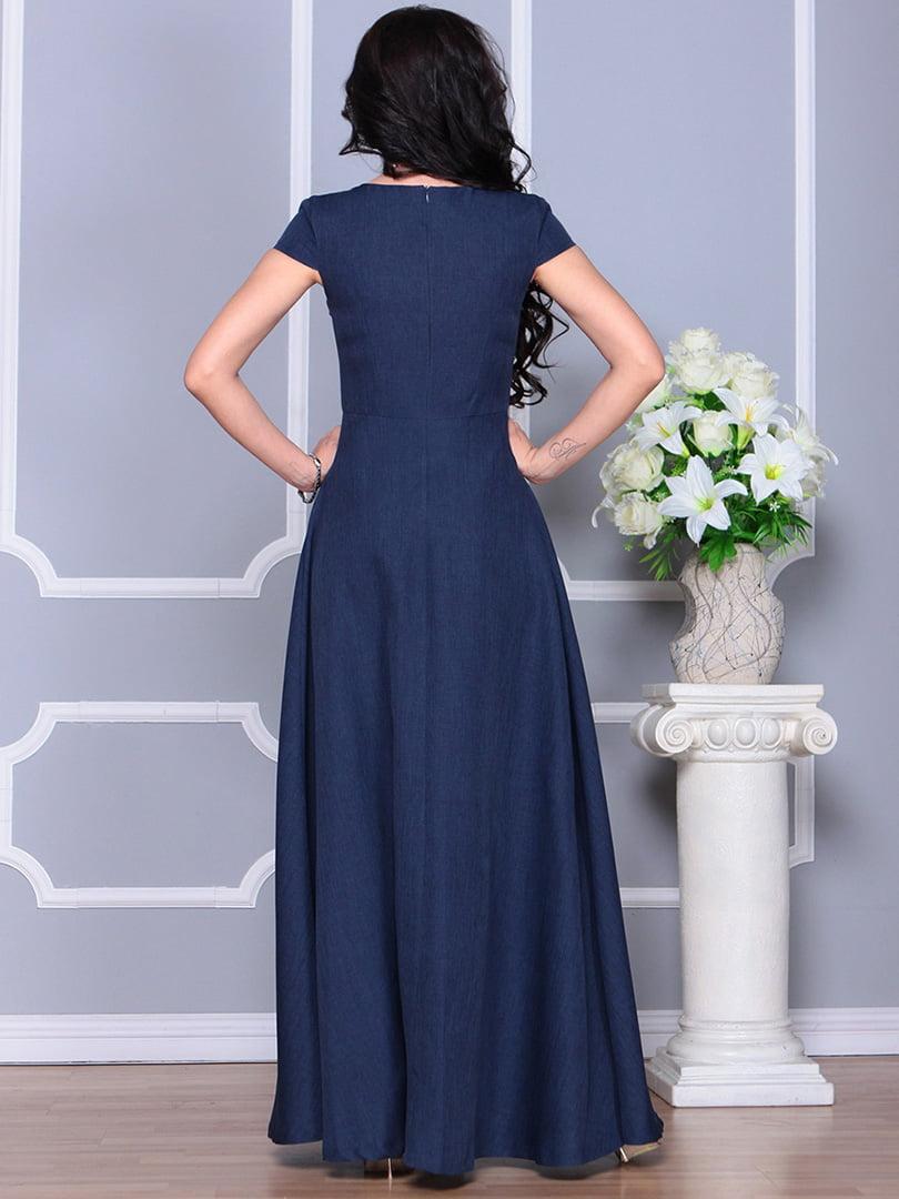 Платье темно-синее | 4246223 | фото 2