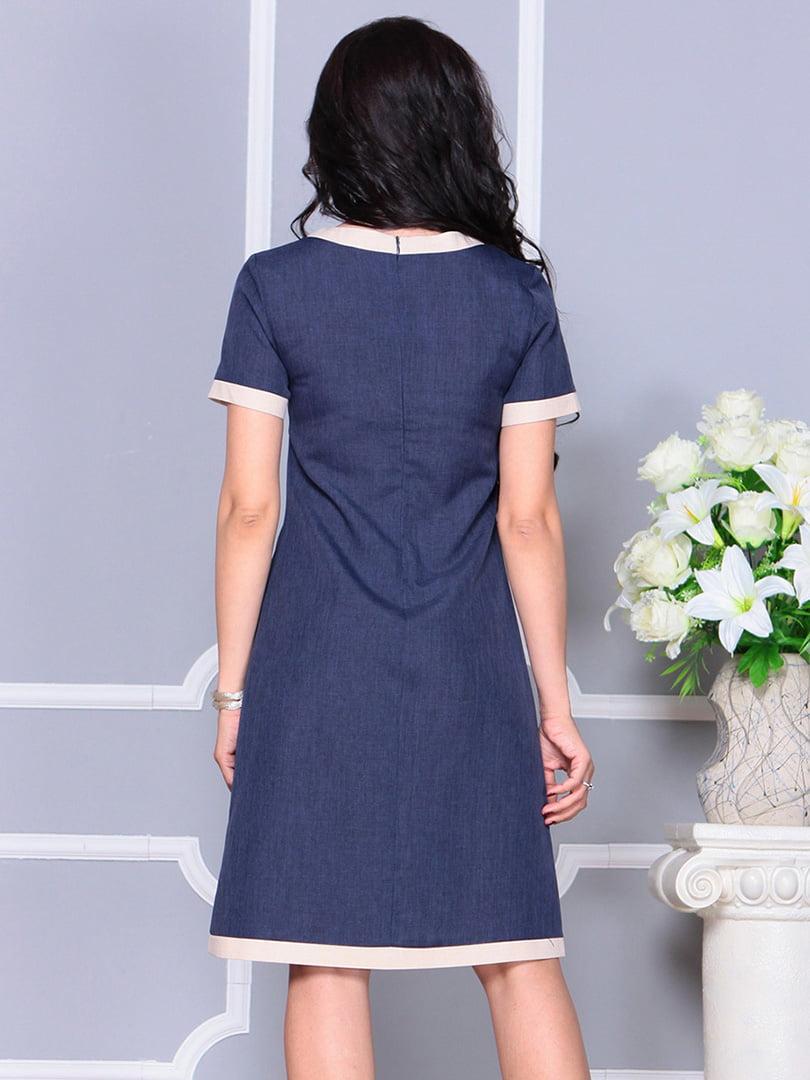 Платье темно-синее | 4246227 | фото 2
