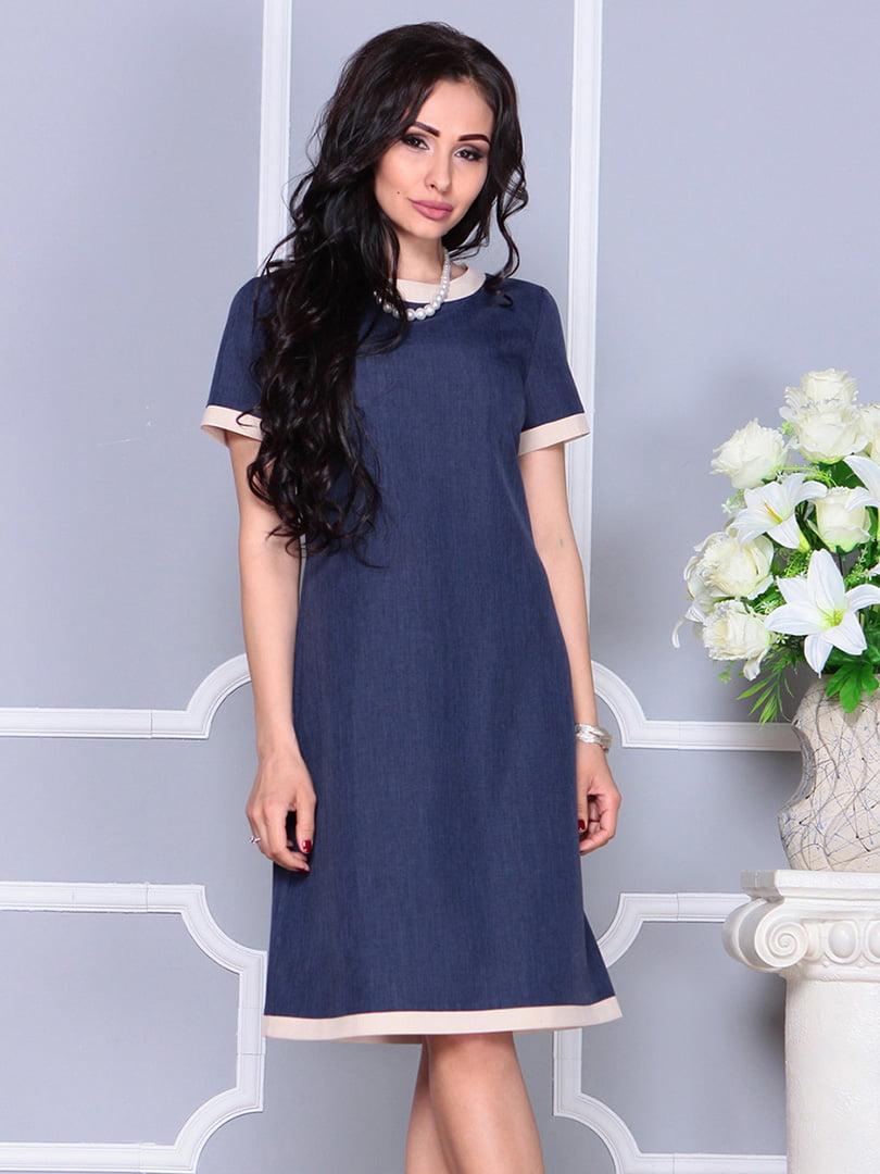 Платье темно-синее | 4246227 | фото 4