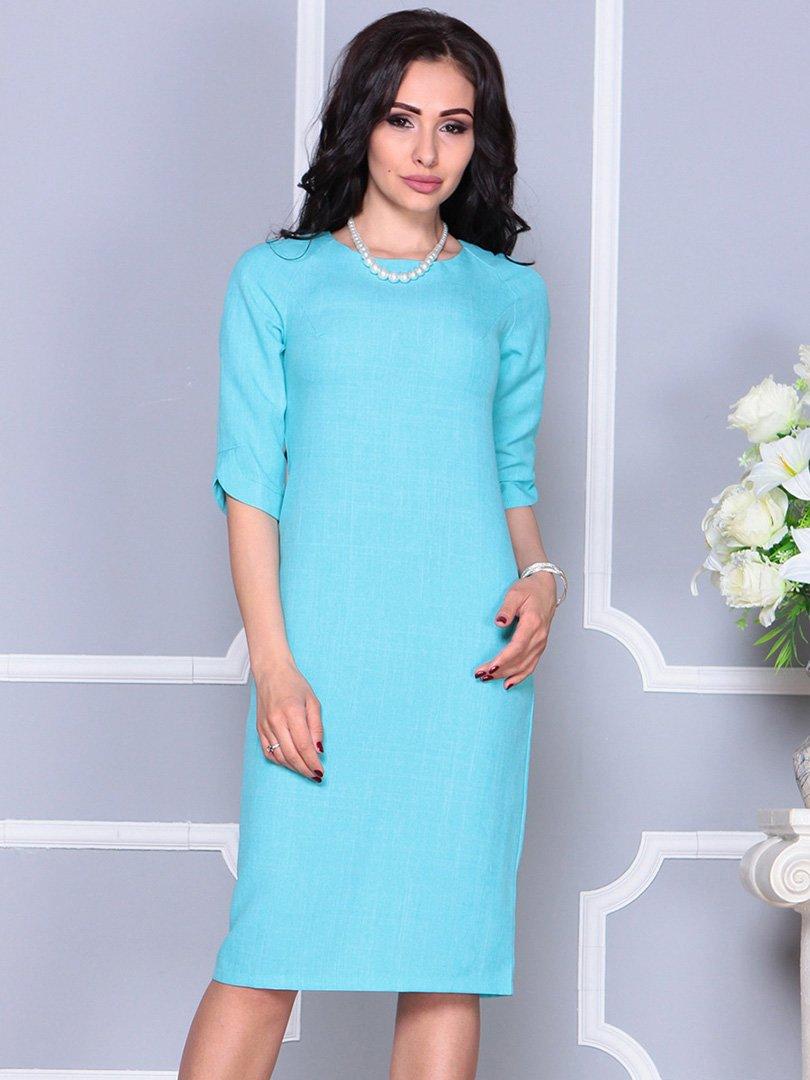 Платье ментолового цвета | 4246229