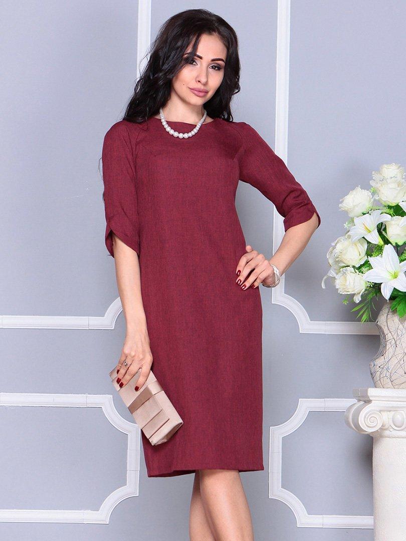 Платье светло-сливовое | 4246230