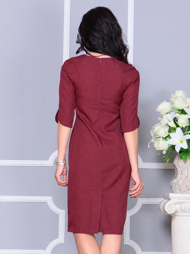 Платье светло-сливовое | 4246230 | фото 2