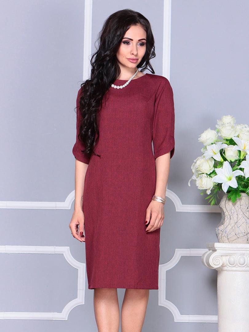 Платье светло-сливовое | 4246230 | фото 4