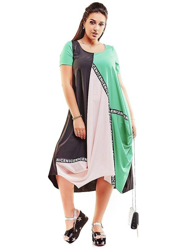 Платье трехцветное | 4220206