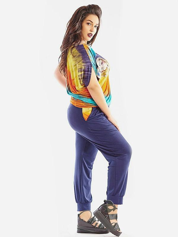Костюм: блуза і штани | 4220213 | фото 2