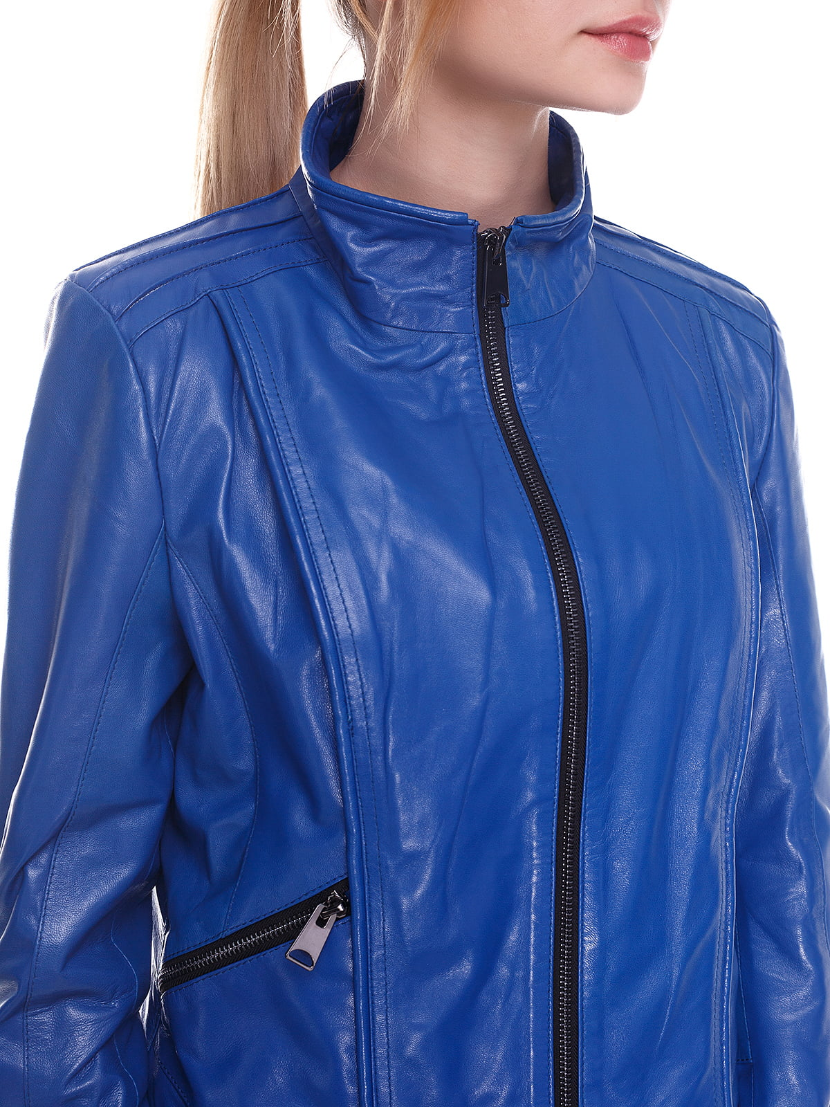 Куртка синя | 4246852 | фото 3