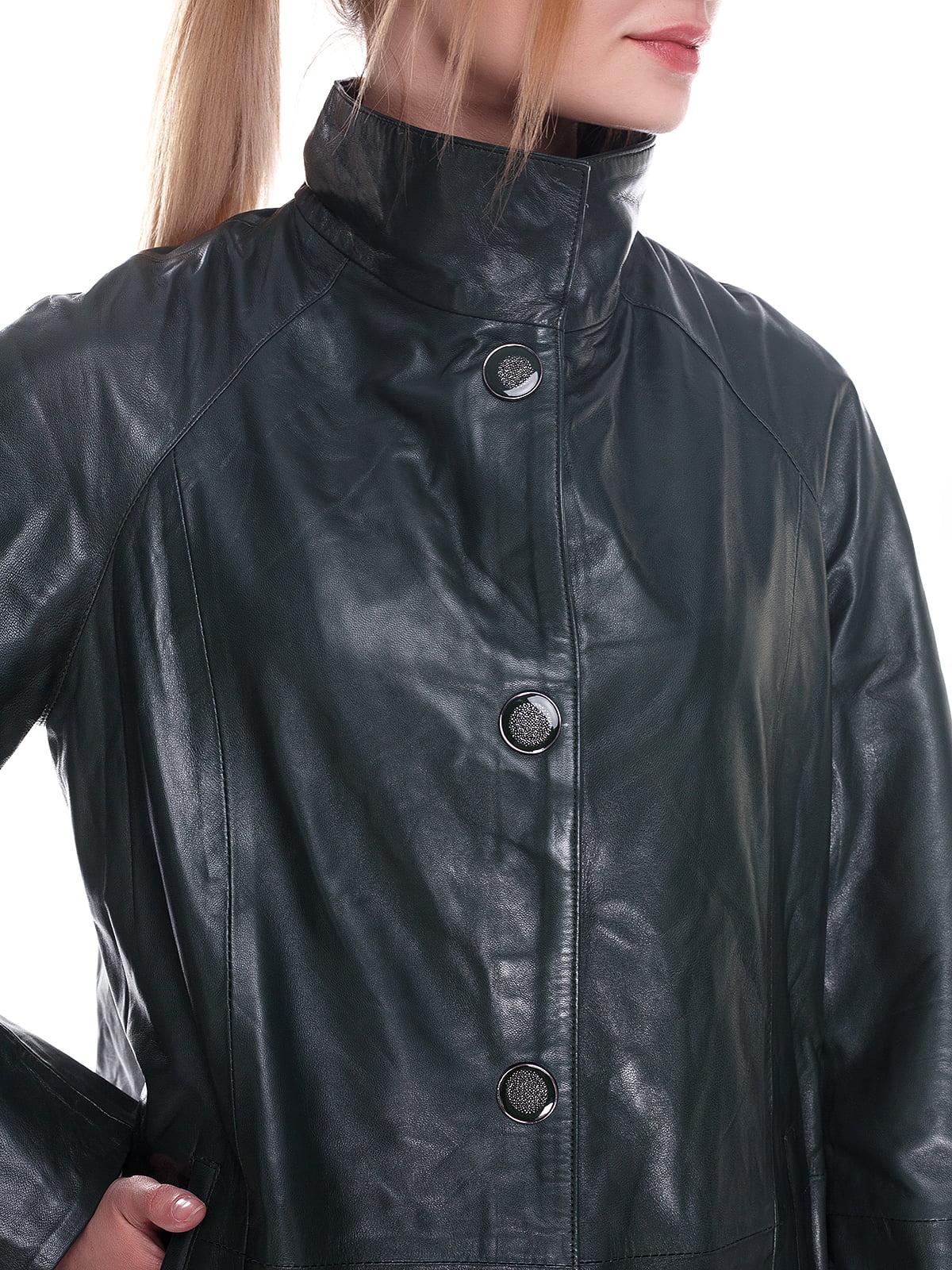 Куртка смарагдового кольору | 4246856 | фото 3
