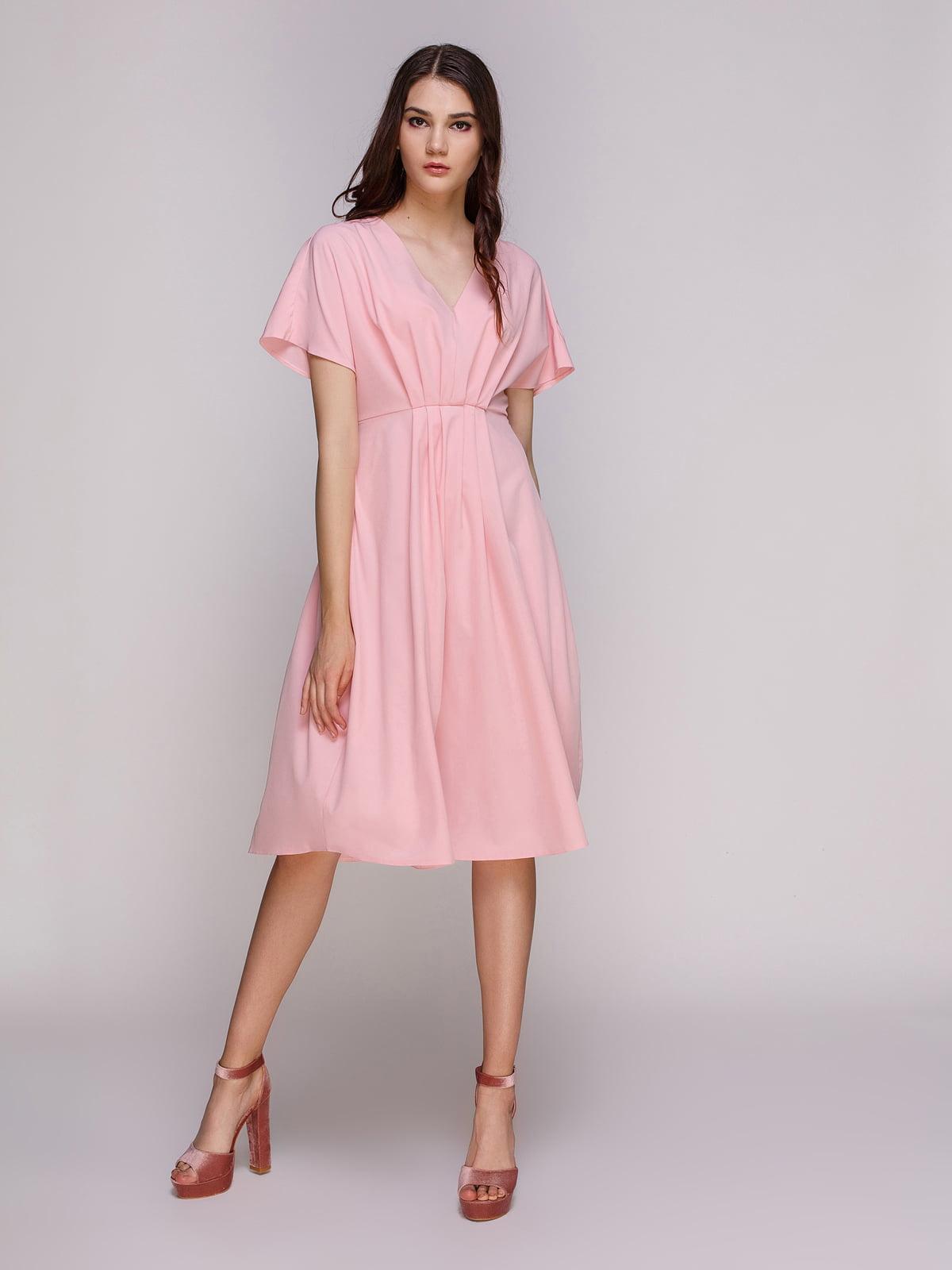 Платье цвета пудры | 4246036