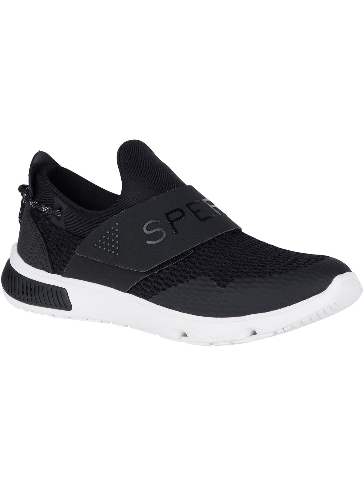 Кросівки чорні Sperry 7 Seas Slip On | 4248644
