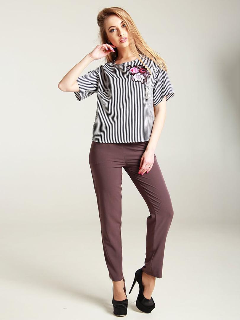 Блуза в смужку | 4250734