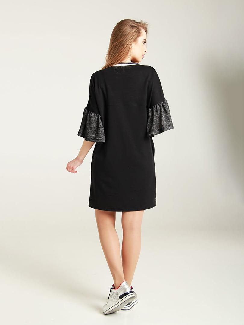 Сукня чорно-сіра | 4250747 | фото 2
