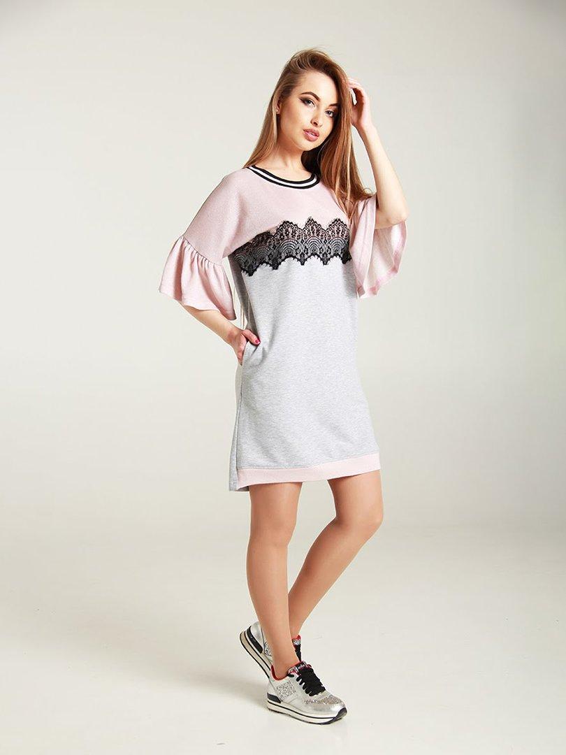 Сукня двоколірна | 4250762