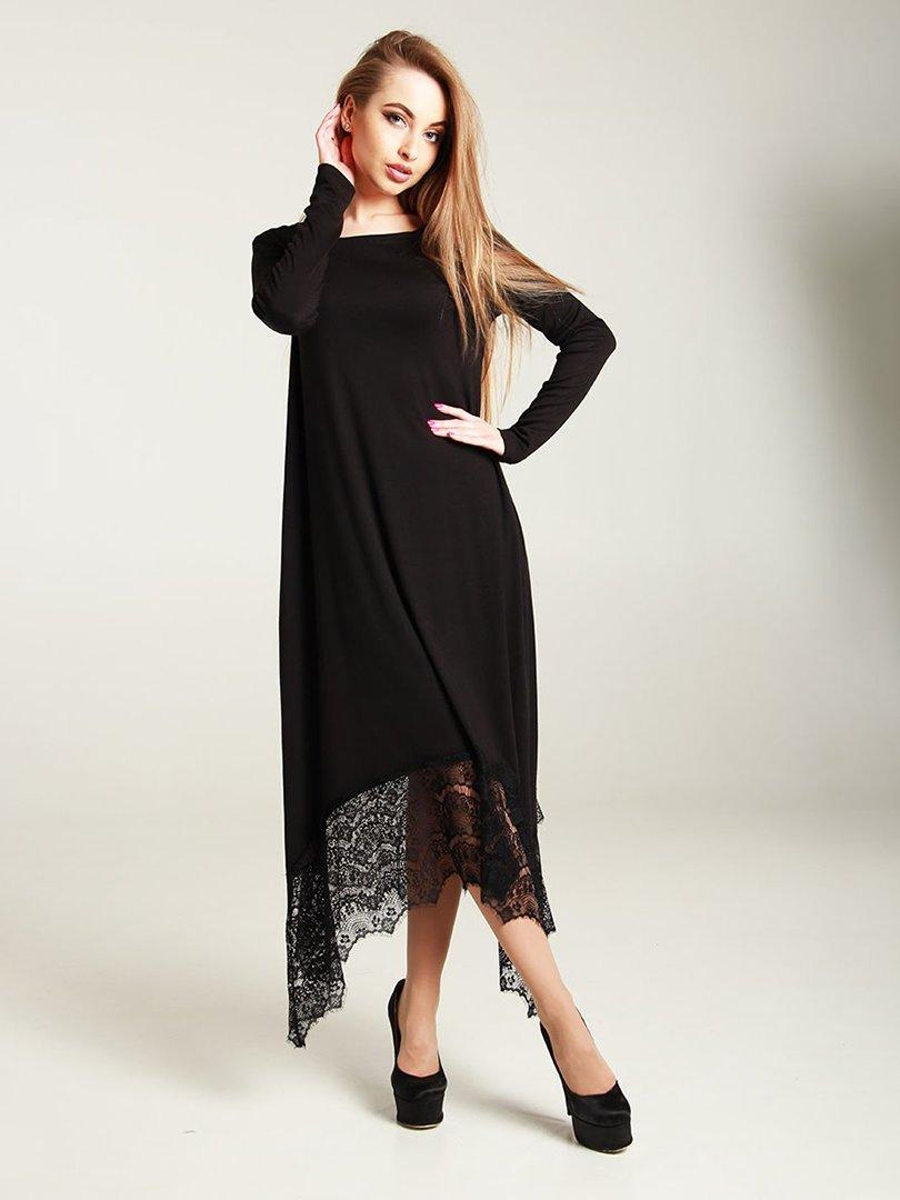 Платье черное | 4250768