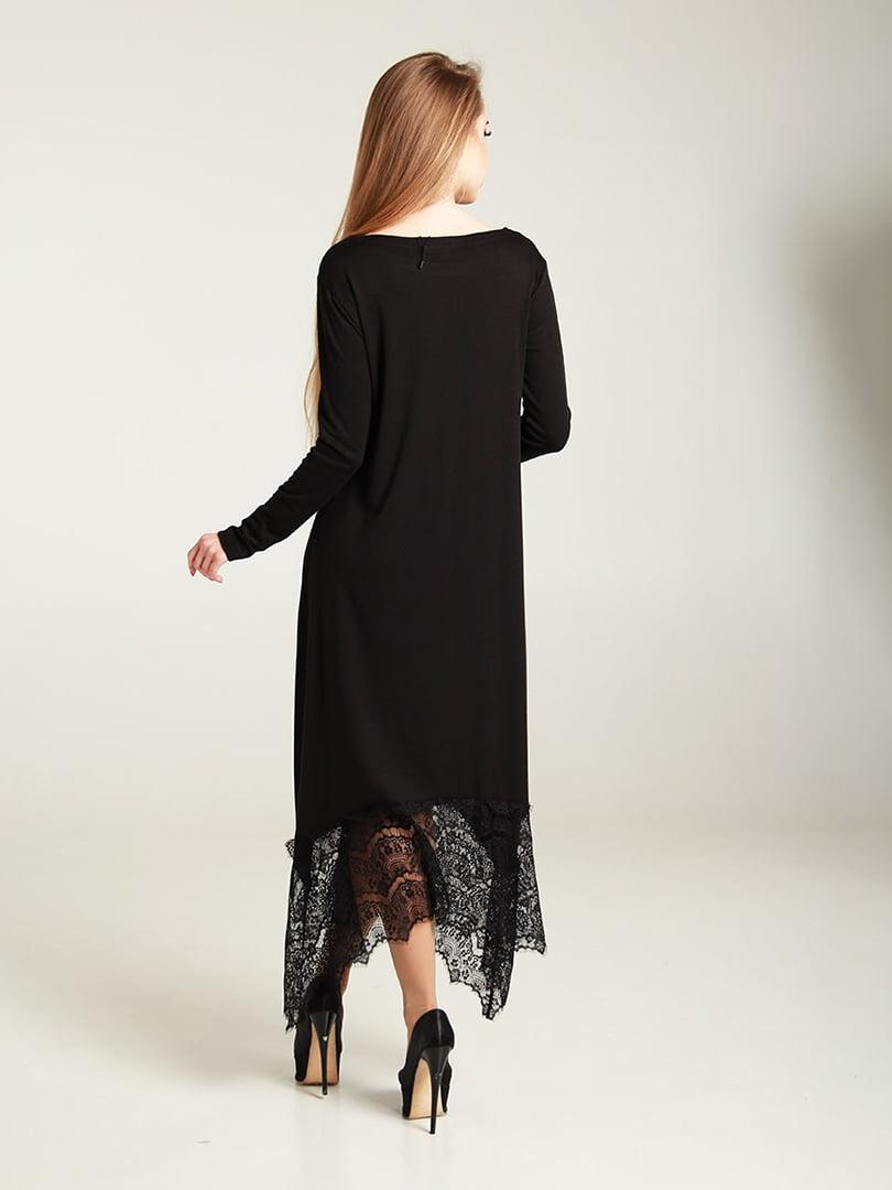 Платье черное | 4250768 | фото 2