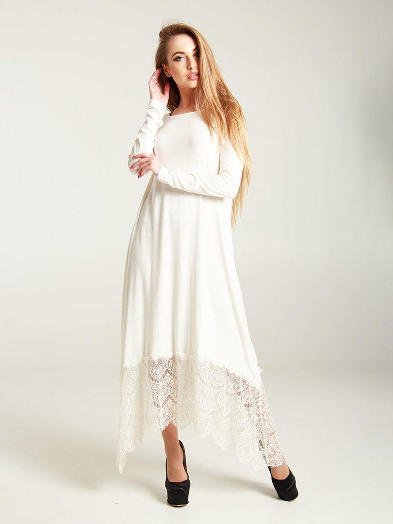 Платье молочного цвета | 4250774