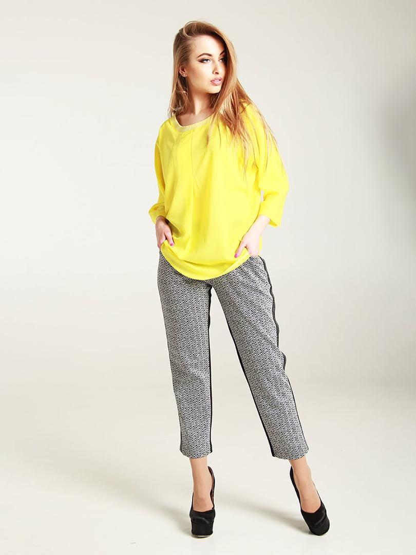 Блуза желтая | 4250813