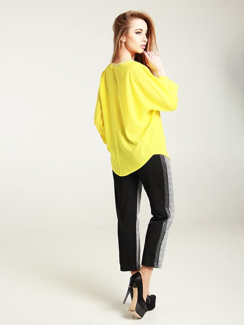 Блуза желтая | 4250813 | фото 2